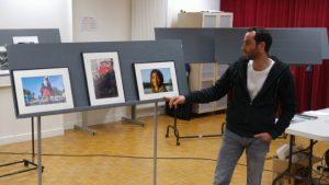 Laurent participant à 3 auteurs 3 photos